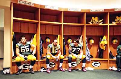 Green Bay Packers Locker Room