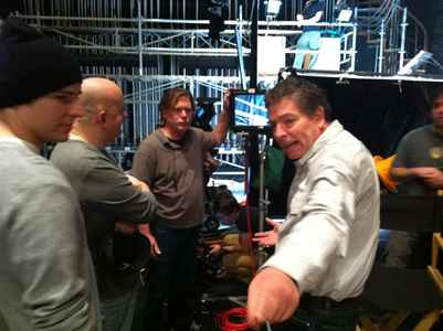 David Zucker On Set