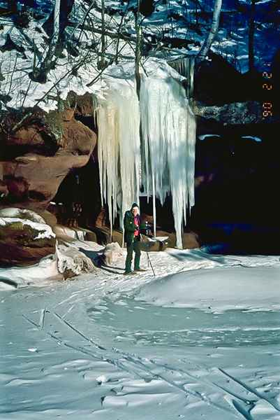 Oak Island Ice Caves