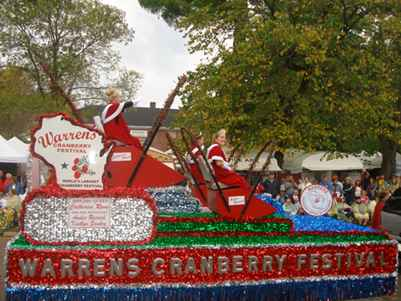Warrens Cranberry Festival Parade | Courtesy Warrens Cranberry Festival