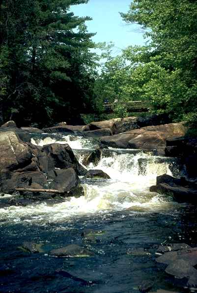 Marinette County Waterfall