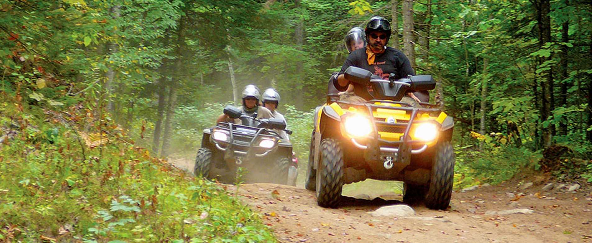 ATV's on Trail