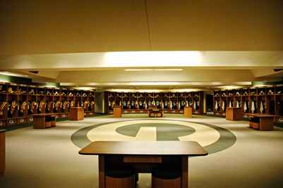 Lambeau Field Locker Room