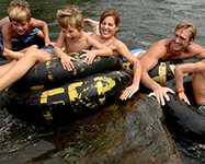 River Tubing in Wisconsin