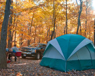 Fall Color Camping: Northern Wisconsin