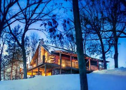6 Romantic Cabins for a Warm Wisconsin Winter