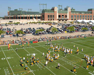 Packers Training Camp Thrills Fans in August
