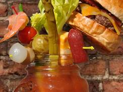 Image for Wisconsin's Most Creative, Colossal and Cheeseburger-filled Bloody Marys