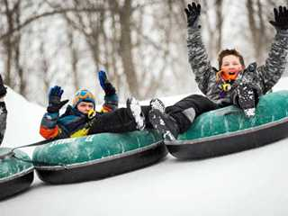 Snow Tubing: Perfect for Skill-Less Thrill Seekers