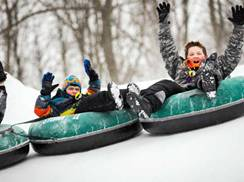 Image for Snow Tubing: Perfect for Skill-Less Thrill Seekers