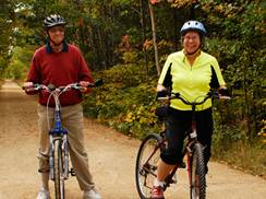 Image for Bike Trails and Nature: 6 Ways to Explore Wisconsin's Wildlife on Wheels