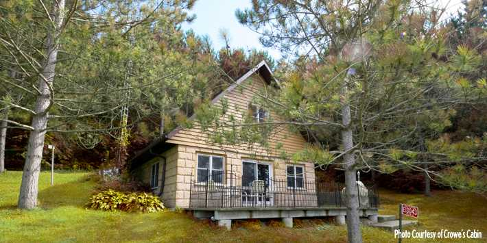 Awe Inspiring 5 Quiet Cozy Wisconsin Cabin Rentals Travel Wisconsin Download Free Architecture Designs Remcamadebymaigaardcom