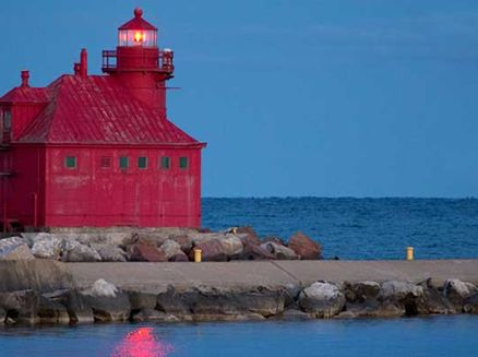 Image for Best Places to Fish in Wisconsin: Sturgeon Bay