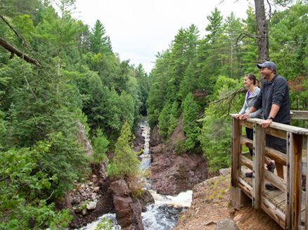Image for Five Top Spots for Wisconsin Waterfalls