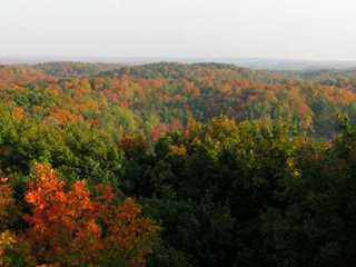 5 Wisconsin Cabins for Hilltop Fall Color Tour Hikers