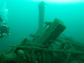 Sunken Structures Detected on the Bottom of Wisconsin Lakes