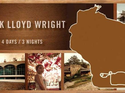 Image for Frank Lloyd Wright Travel Itinerary