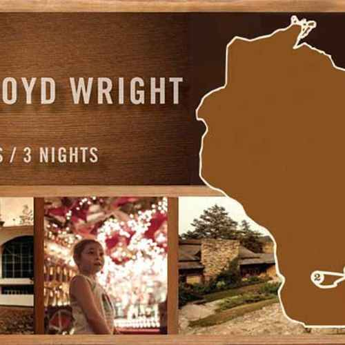 Frank Lloyd Wright Travel Itinerary