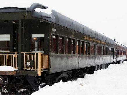 Image for All Aboard! Wisconsin Snow Trains
