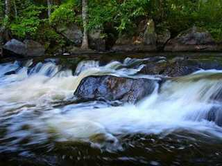 Explore Florence County's Waterfalls and Wild Rivers