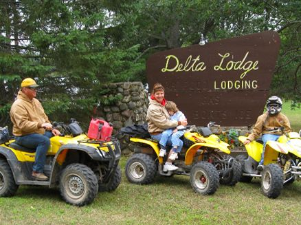 Image for Wisconsin ATV Trip: 5 Cabins on Northwoods Trails