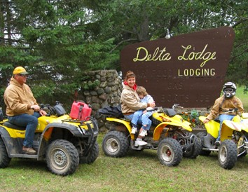 Wisconsin ATV Trip: 5 Cabins on Northwoods Trails