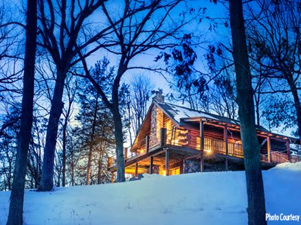Image for 6 Romantic Cabins for a Warm Wisconsin Winter