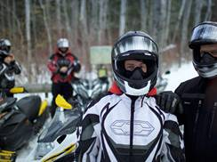 Image for Snowmobiling in Wisconsin: Trail-Side Drinks and Dining