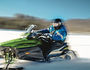 Top Spots for Snowmobiling in Southwest Wisconsin