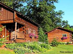 Image for Five Log Cabins in Wisconsin for Nature Enthusiasts