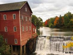 Image for 7 Historic Wisconsin Mills Perfect for Fall Pictures