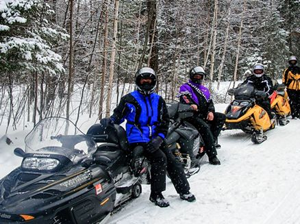 Image for Top 4 Wisconsin Northwoods Snowmobile Destinations
