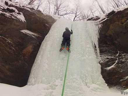 Image for 'Cool' Sport: Where to Try Ice Climbing in Wisconsin