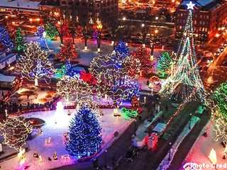Wisconsin Holiday Light Shows
