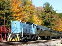 Image for Five Scenic Fall Train Rides in Wisconsin