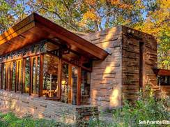 Image for 5 Wisconsin Cabins for Autumn in the Baraboo Hills