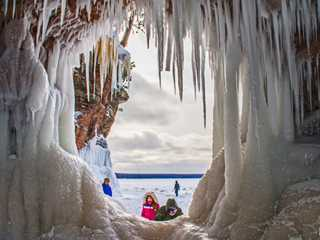 Explore The Ice Caves at Wisconsin's Apostle Islands