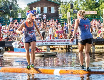 Just Roll With It: Experience Logrolling in Wisconsin