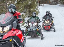 Image for Family-Friendly Wisconsin Snowmobile Getaways