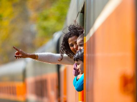 Image for Train Trips and Family Getaways in Wisconsin
