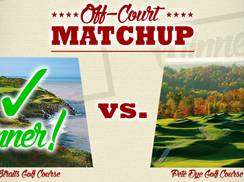 Image for Whistling Straits vs. The Pete Dye Course at French Lick Resort