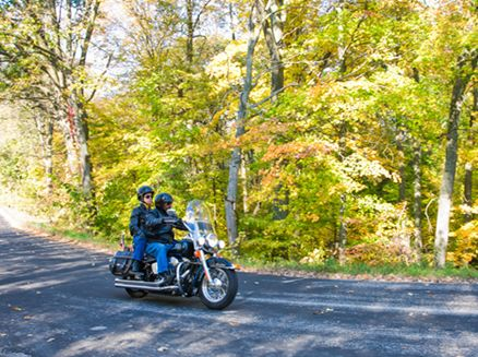 Image for Fan Favorite: Best Fall Motorcycle Rides