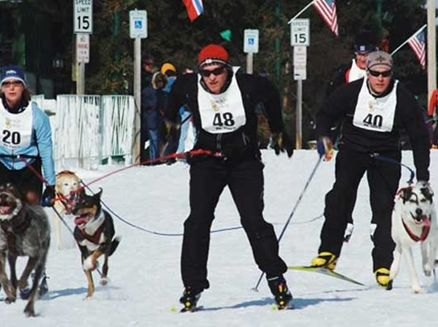 Image for Skijoring: Wisconsin's Dog-Powered Winter Sport
