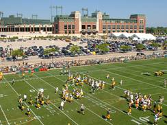 Image for Packers Training Camp Thrills Fans in August