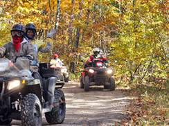 Image for 6 Wisconsin ATV Trails for Fall in the Northwoods