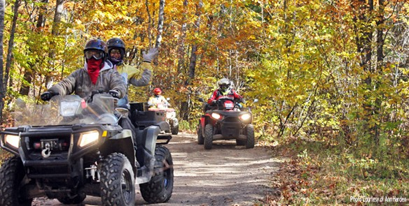 6 Wisconsin ATV Trails for Fall in the Northwoods
