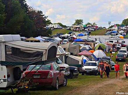 Image for Spend the Night! A Guide to Camping at Wisconsin Music Festivals