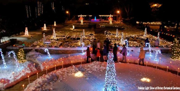 Walk a Winter Wonderland of Lights
