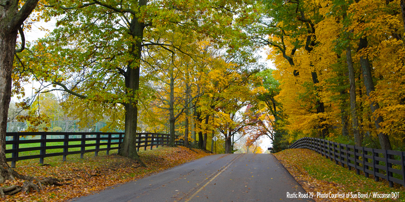 Wisconsin Rustic Roads For Fall Color Travel Wisconsin