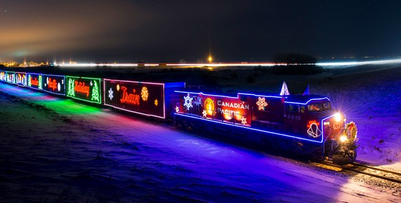 The CP Holiday Train Coming to Wisconsin, Virtually